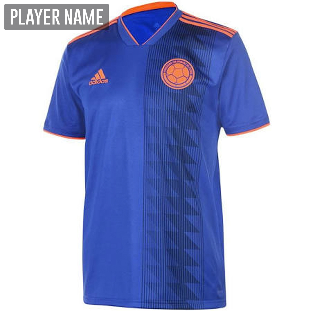 adidas colombia away jersey 18 19 bold bluesolar red