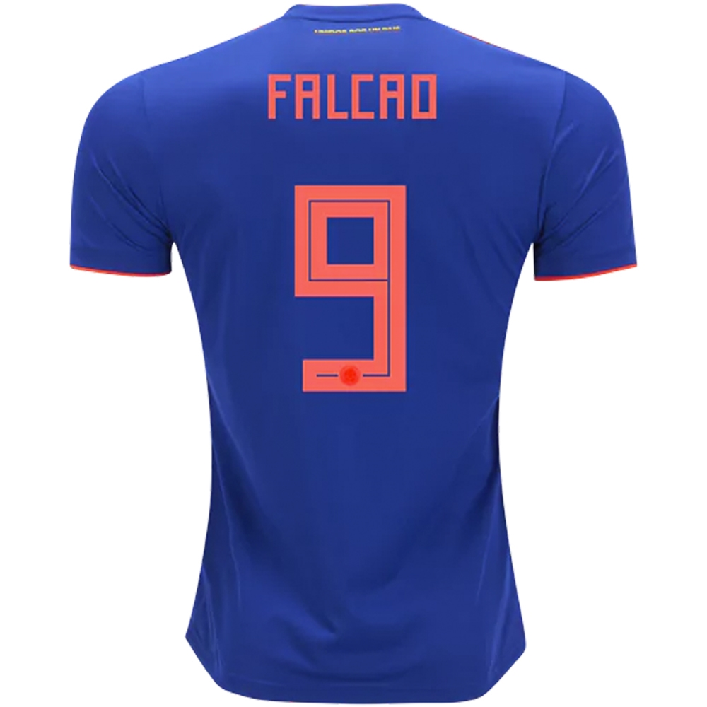 adidas colombia falcao 9 away jersey 18 19 bold blue