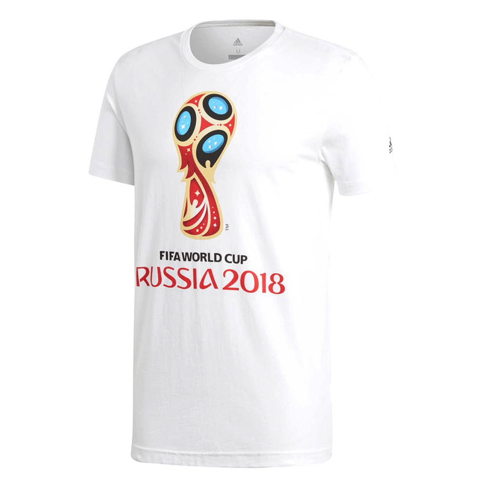 89cf043d182 Adidas FIFA World Cup Russia 2018 T-Shirt (White)