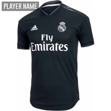 Adidas Real Madrid Away Authentic Jersey '18-'19 (Tech Onix/Bold Onix/White)