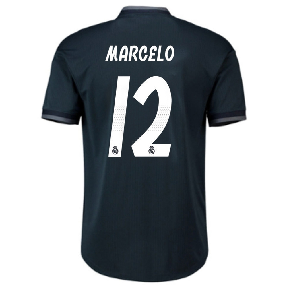 1596be6c8bf Adidas Real Madrid 'MARCELO 12' Away Authentic Jersey '18-'19 (Tech ...