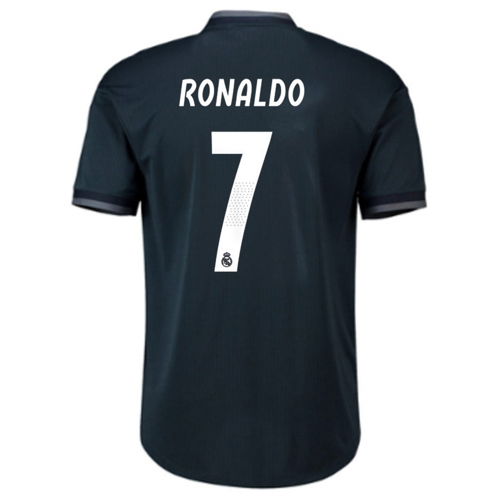 the best attitude 4342a cf29c Adidas Real Madrid 'RONALDO 7' Away Authentic Jersey '18-'19 (Tech  Onix/Bold Onix/White)