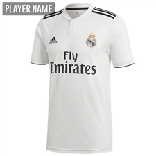Adidas Real Madrid Home Jersey '18-'19 (Core White/Black)
