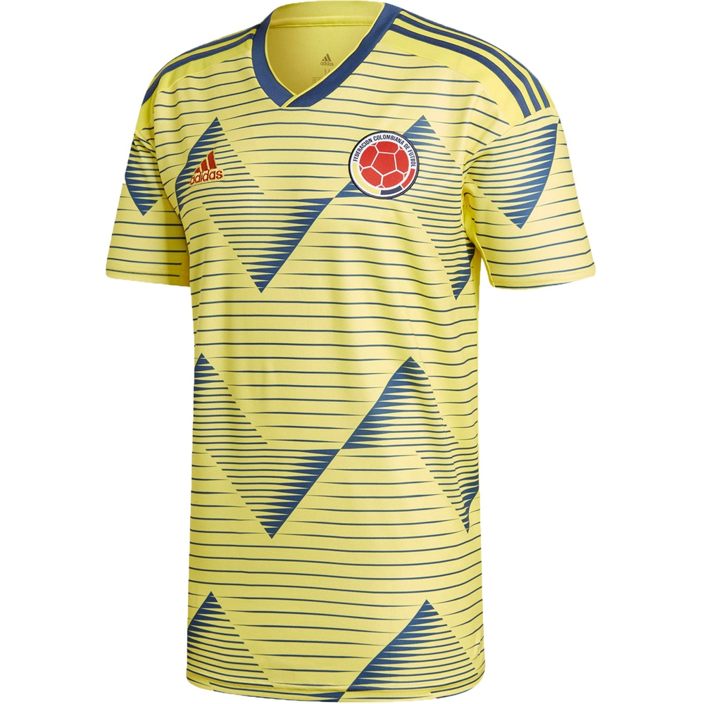 info for c8373 c75ac Adidas Colombia 'CUADRADO 11' Home Jersey 2019 (Light Yellow/Night Marine)