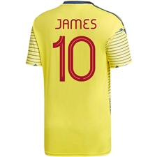 622bae3b9 Adidas Colombia 'JAMES 10' Home Jersey 2019 (Light Yellow/Night Marine) ...