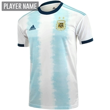 Adidas Argentina Home Jersey 2019 (White/Light Aqua)