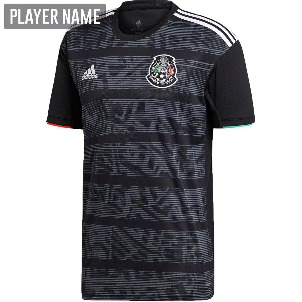 1b5ccd06035 Adidas Mexico Home Jersey 2019 (Black White)