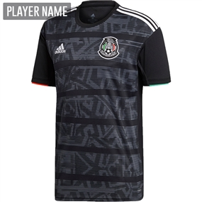 Adidas Mexico Home Jersey 2019 (Black/White)