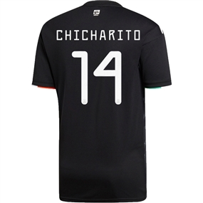 Adidas Mexico 'CHICHARITO 14' Home Jersey 2019 (Black/White)