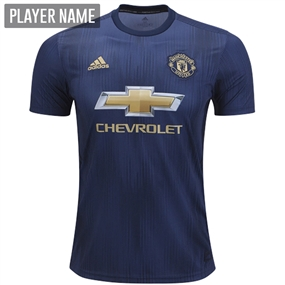Adidas Manchester United Third Jersey '18-'19 (Collegiate Navy/Night Navy/Matte Gold)