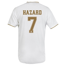 Adidas Real Madrid 'HAZARD 7' Home Jersey '19-'20 (White)
