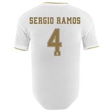Adidas Real Madrid 'SERGIO RAMOS 4' Home Authentic Jersey '19-'20 (White)