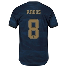 Adidas Real Madrid 'KROOS 8' Away Authentic Jersey '19-'20 (Night Indigo)