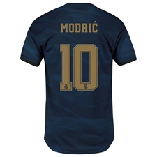 Adidas Real Madrid 'MODRIC 10' Away Authentic Jersey '19-'20 (Night Indigo)