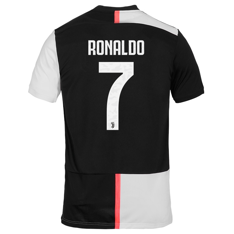 check out 98cd0 3f1ce Adidas Juventus 'RONALDO 7' Home Jersey '19-'20 (Black/White)