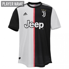 Adidas Juventus Home Authentic Jersey '19-'20 (Black/White)