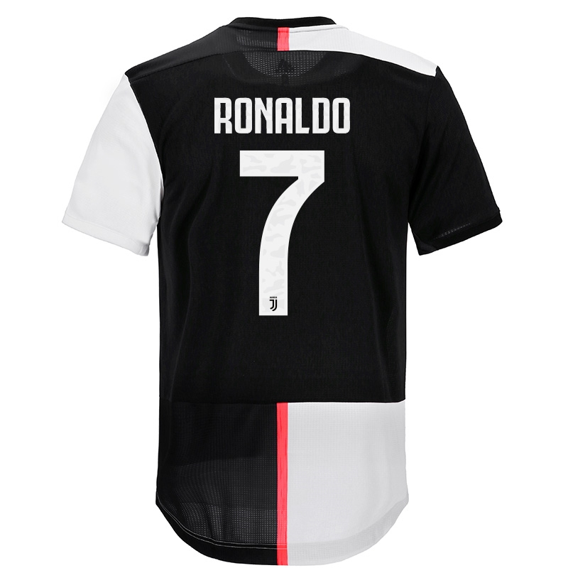 outlet store 7ade7 64727 Adidas Juventus 'RONALDO 7' Home Authentic Jersey '19-'20 (Black/White)