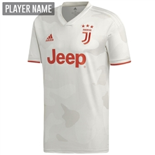 Adidas Juventus Away Jersey '19-'20 (Core White/Raw White)