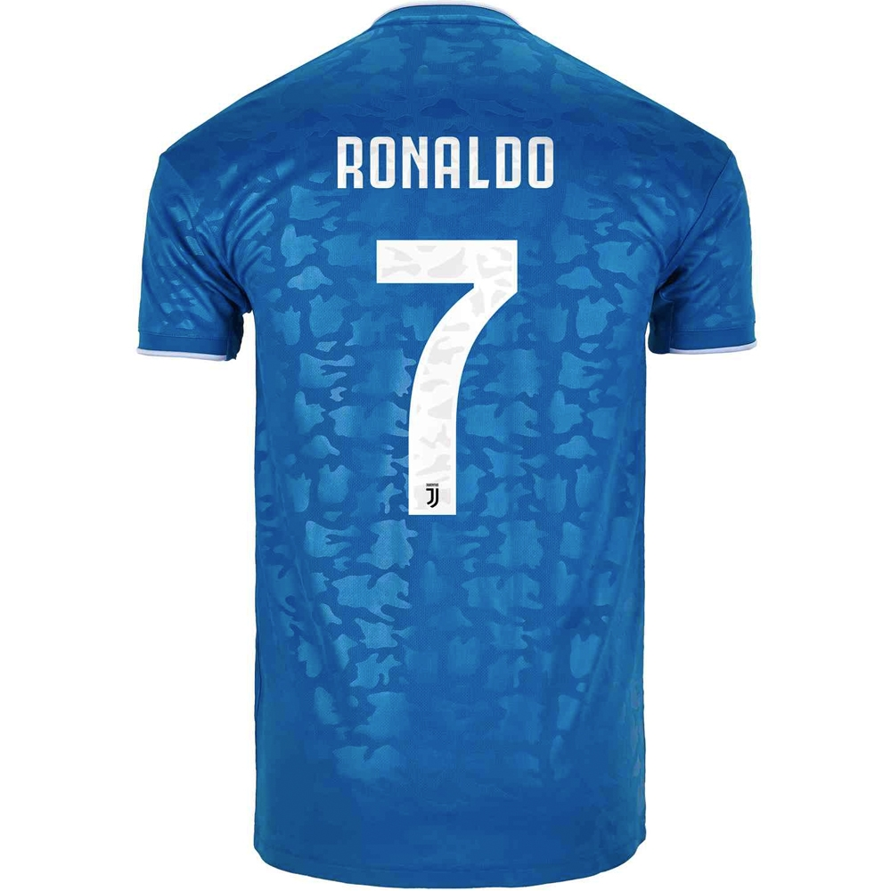 cheap for discount 66a8f 431b9 Adidas Juventus 'RONALDO 7' Third Jersey '19-'20 (Unity Blue/Aero Blue)