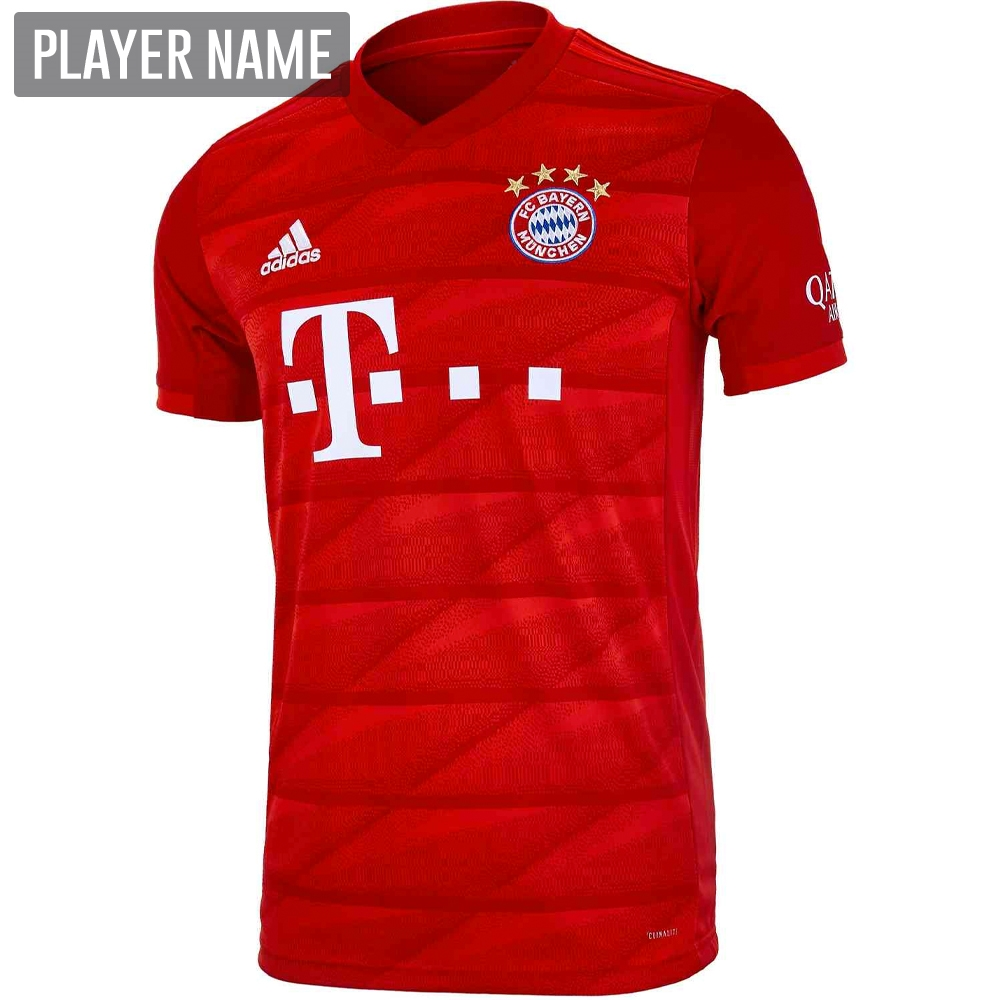 new arrival 1e045 9859c Adidas Bayern Munich Home Jersey '19-'20 (FCB True Red)