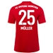 Adidas Bayern Munich 'MULLER 25' Home Jersey '19-'20 (FCB True Red)