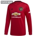 Adidas Manchester United Home Long Sleeve Jersey '19-'20 (Real Red)