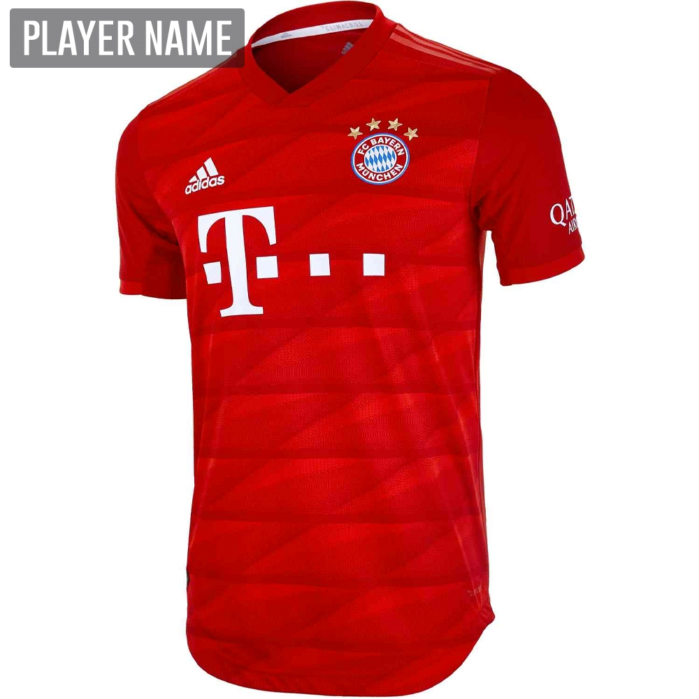 newest collection c9e95 46374 Adidas Bayern Munich Home Authentic Jersey '19-'20 (FCB True Red)