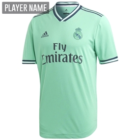 Adidas Real Madrid Third Authentic Jersey '19-'20 (Hi-Res Green/Night Indigo)