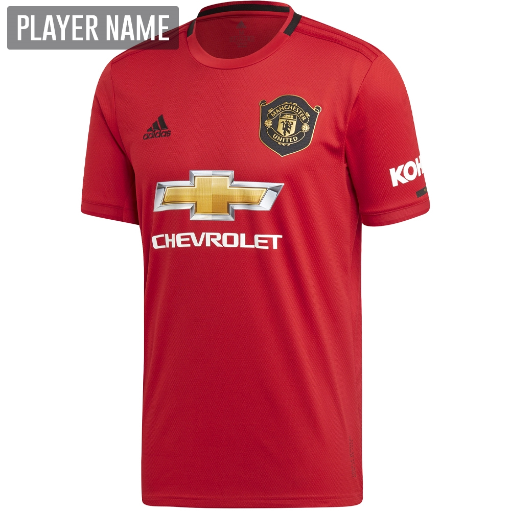 786840ae0 Adidas Manchester United Home Jersey '19-'20 (Real Red) | Adidas ...