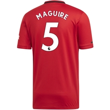 Adidas Manchester United 'MAGUIRE 5' Home Jersey '19-'20 (Real Red)