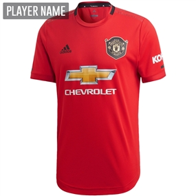 Adidas Manchester United Home Authentic Jersey '19-'20 (Real Red)