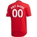 Adidas Manchester United 'CUSTOM' Home Authentic Jersey '19-'20 (Real Red)
