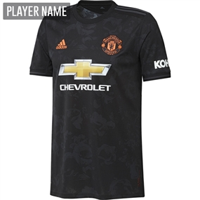 Adidas Manchester United Third Jersey '19-'20 (Black)