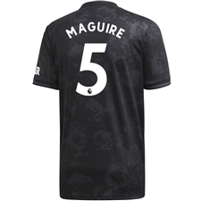 Adidas Manchester United 'MAGUIRE 5' Third Jersey '19-'20 (Black)