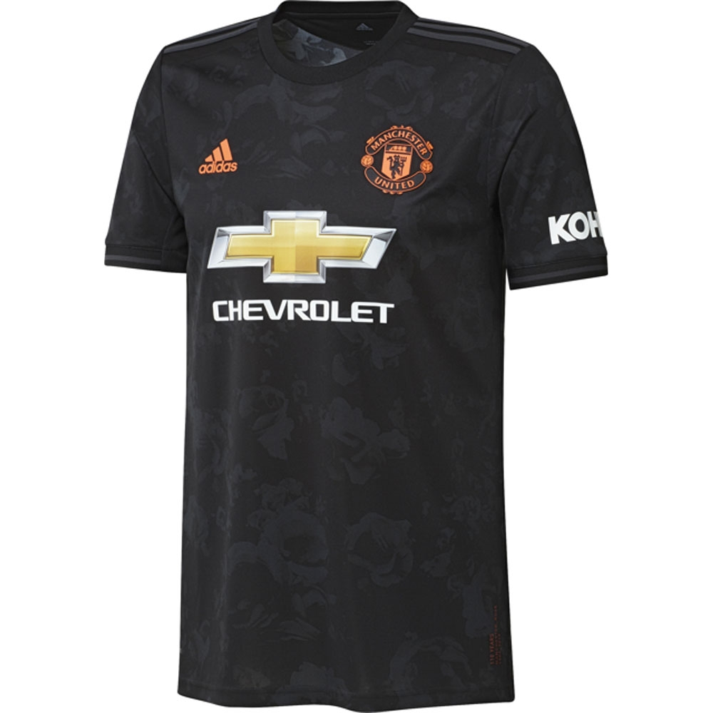 adidas Manchester United FC Home Long Sleeve Jersey REARED