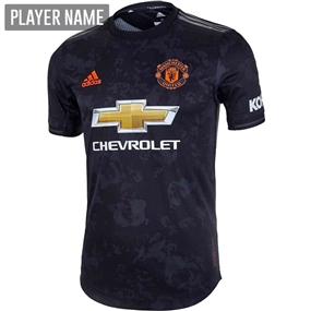 Adidas Manchester United Third Authentic Jersey '19-'20 (Black)