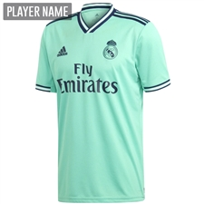 Adidas Real Madrid Third Jersey '19-'20 (Hi-Res Green/Night Indigo)