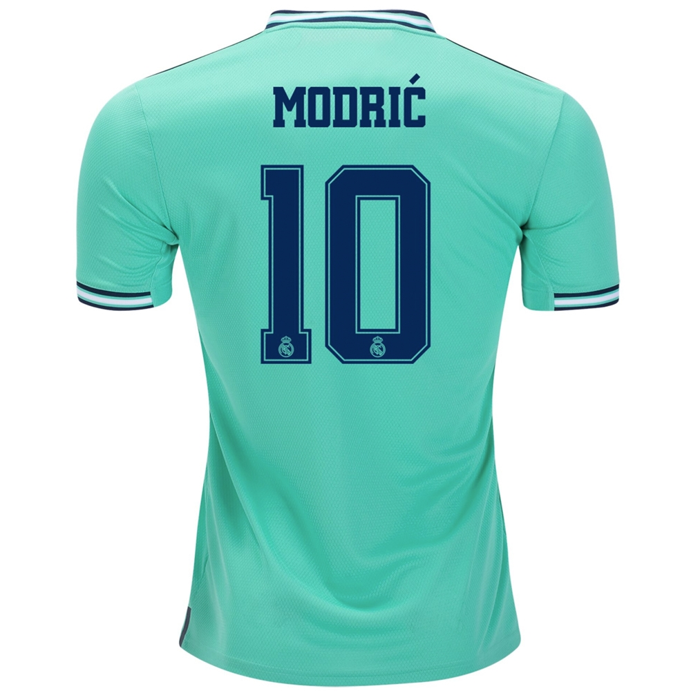 premium selection 06005 d558e Adidas Real Madrid 'MODRIC 10' Third Jersey '19-'20 (Hi-Res Green/Night  Indigo)