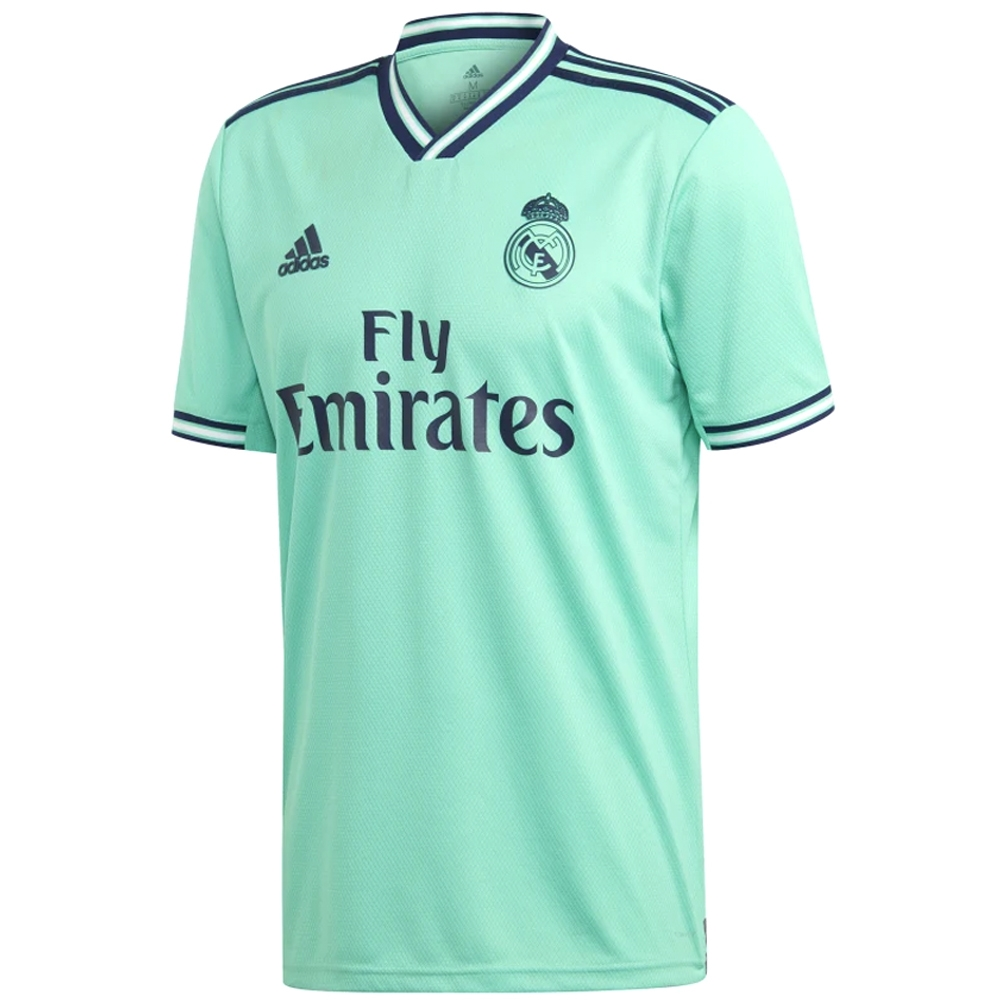 pretty nice a781b c24bf Adidas Real Madrid 'SERGIO RAMOS 4' Third Jersey '19-'20 (Hi-Res  Green/Night Indigo)