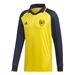 Adidas Arsenal Icons L/S Retro Jersey (Equipment Yellow/Collegiate Navy)
