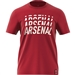 Adidas Arsenal DNA Graphic T-Shirt (Active Maroon)
