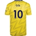 Adidas Arsenal 'OZIL 10' Away Jersey '19-'20 (Equipment Yellow)