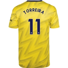 Adidas Arsenal 'TORREIRA 11' Away Jersey '19-'20 (Equipment Yellow)