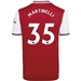 Adidas Arsenal 'MARTINELLI 35' Home Jersey '19-'20 (Scarlet)