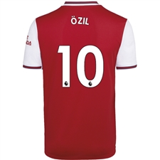 Adidas Arsenal 'OZIL 10' Home Jersey '19-'20 (Scarlet)