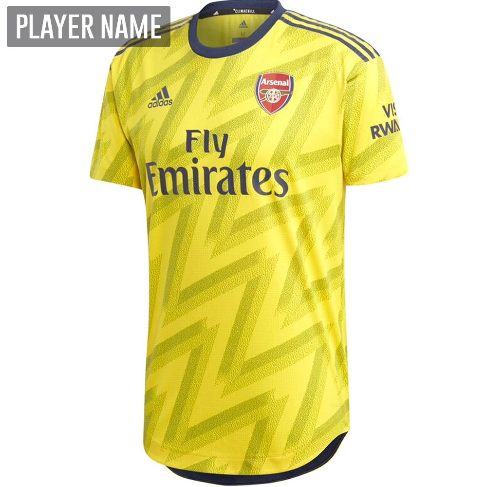 newest 90d4a dd34d Adidas Arsenal Away Authentic Jersey '19-'20 (Equipment Yellow)