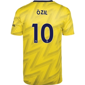 Adidas Arsenal 'OZIL 10' Away Authentic Jersey '19-'20 (Equipment Yellow)