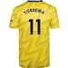 Adidas Arsenal 'TORREIRA 11' Away Authentic Jersey '19-'20 (Equipment Yellow)
