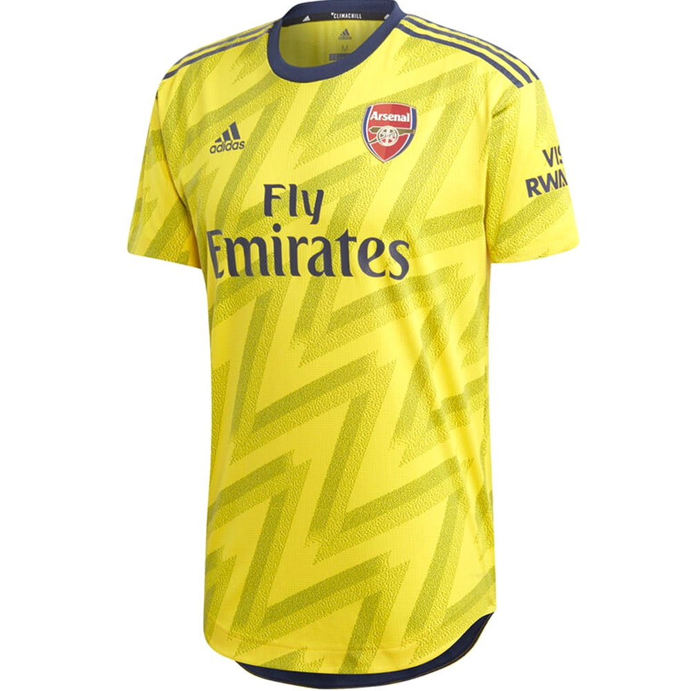 new product 768b4 87288 Adidas Arsenal 'TORREIRA 11' Away Authentic Jersey '19-'20 (Equipment  Yellow)