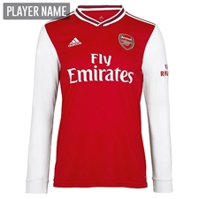 Adidas Arsenal Home Long Sleeve Jersey '19-'20 (Scarlet)